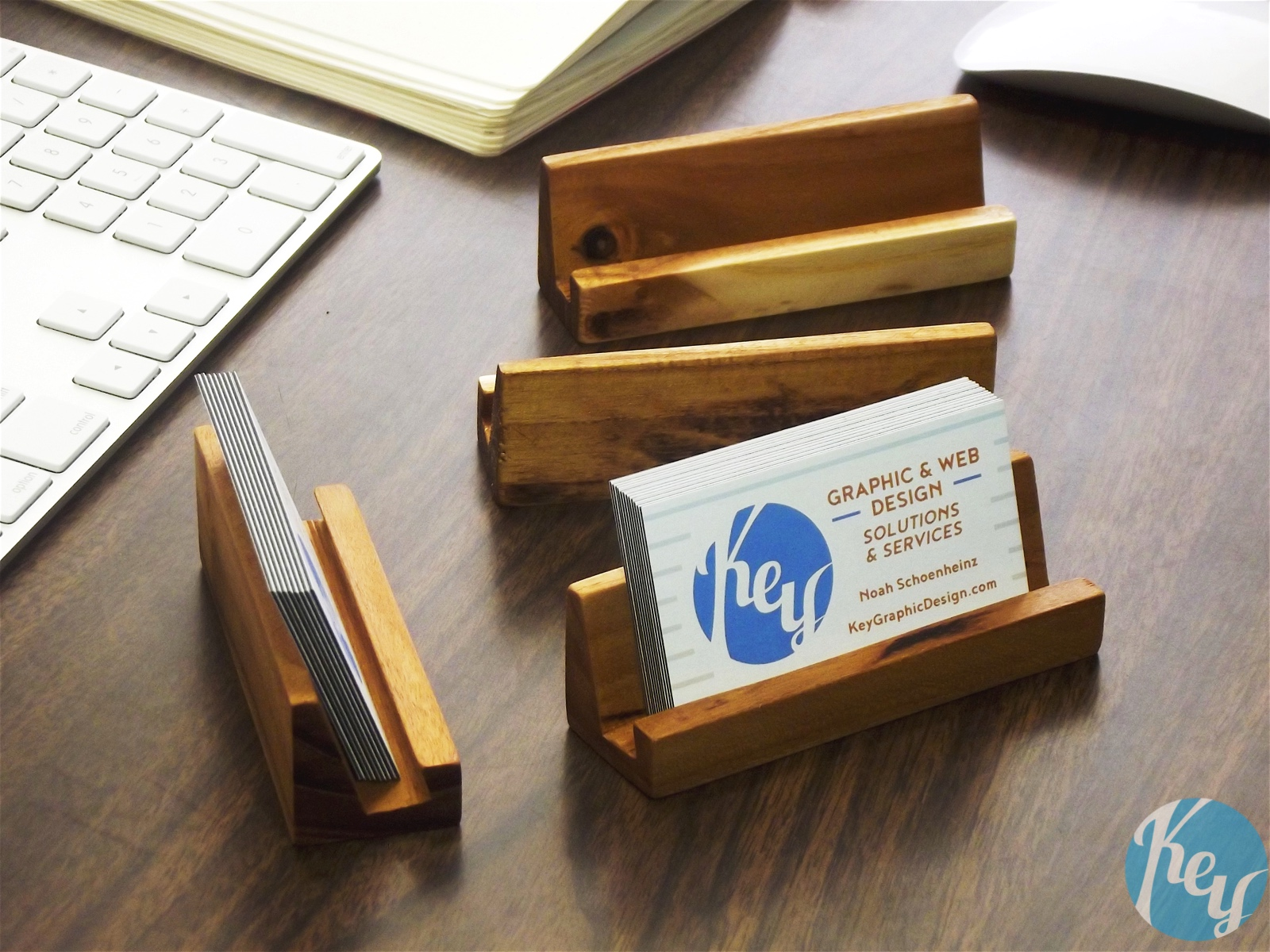 Business Card Holder - Key Graphic Design
